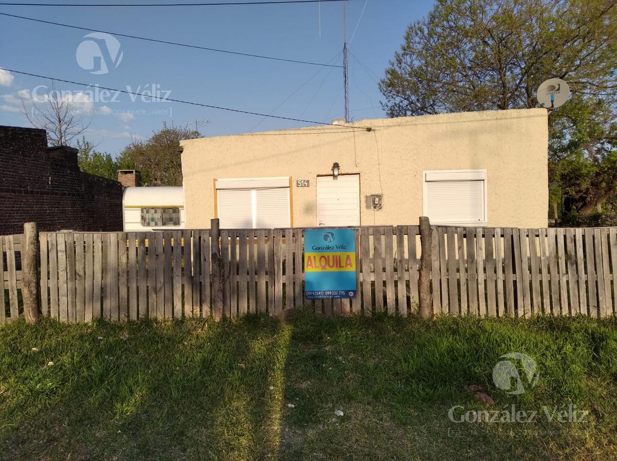 Foto Casa en Alquiler en  Carmelo ,  Colonia  Atilio Francois casi Gral. Flores