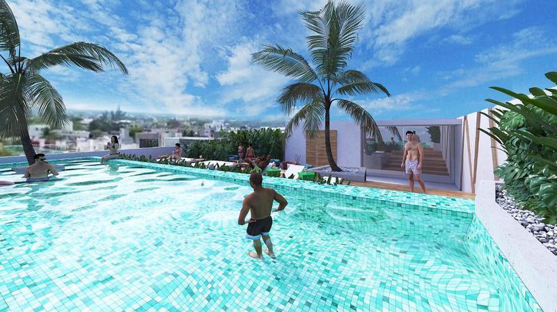 Playa del Carmen Centro Departamento for Venta scene image 9
