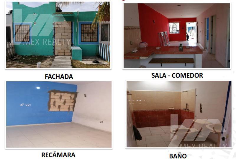 Foto Casa en Venta en  Cancún,  Benito Juárez  VENTA CASA SM 237, FRACC. RESIDENCIAL MONTEALBAN II, CANCUN, Q. ROO, CLAVE 53710, SOLO CONTADO, MUY NEGOCIABLE