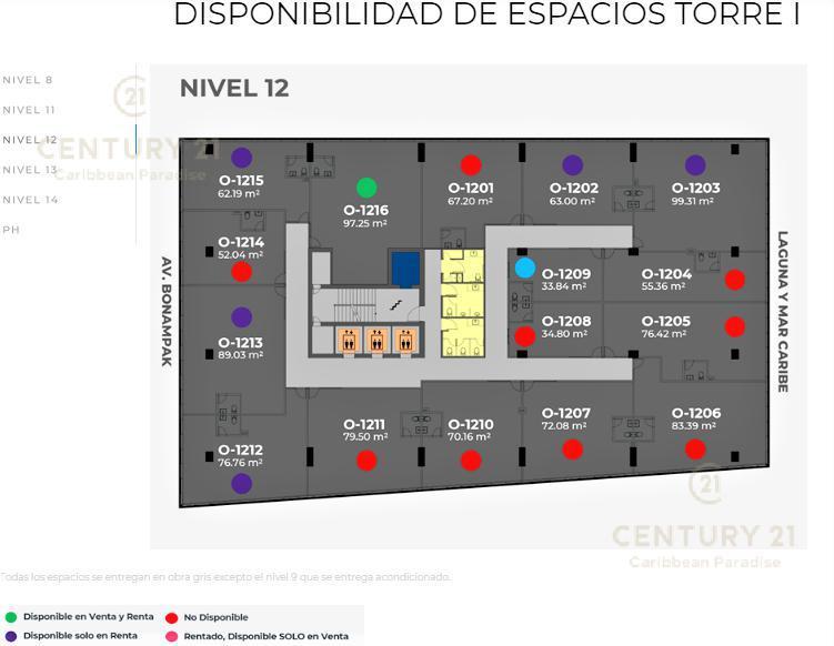 Cancún Oficina for Venta scene image 10