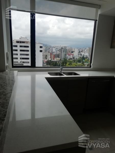 Foto Departamento en Alquiler en  La Carolina,  Quito  LA CAROLINA - AV. DE LOS SHYRIS, BONITO DEPARTAMENTO DE RENTA DE 189 M2