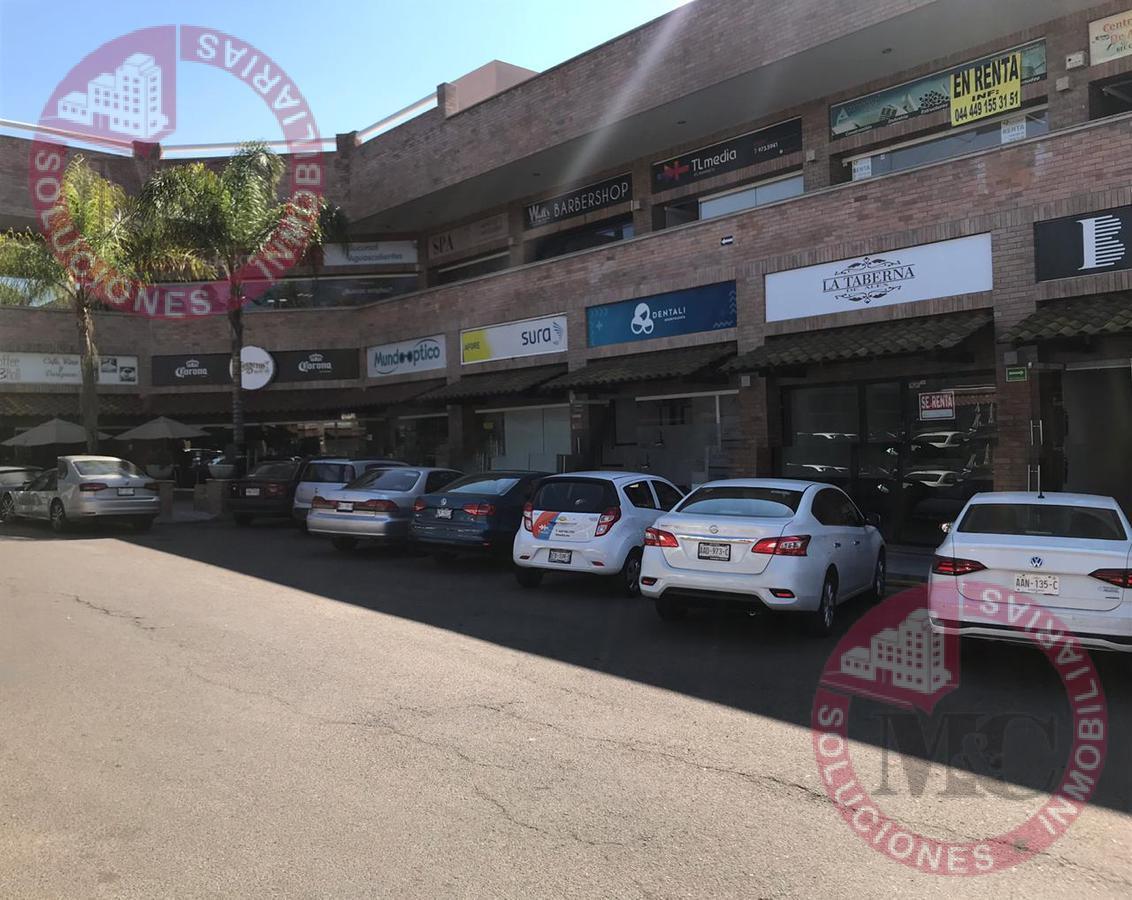 Foto Local en Renta en  Fraccionamiento Bosques del Prado Sur,  Aguascalientes  RENTA EXCELENTE LOCAL COMERCIAL EN PLANTA BAJA EN PLAZA SANTA FE