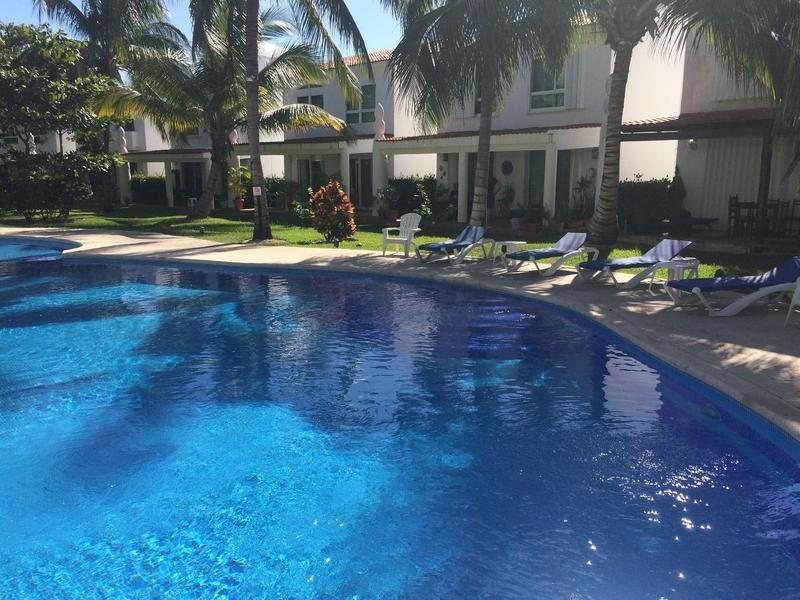 Foto Casa en Renta temporal en  Playa del Carmen ,  Quintana Roo  Increíble casa vacacional de 3 recámaras en Playacar P2283
