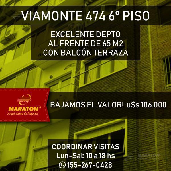 Foto Departamento en Venta | Alquiler en  Microcentro,  Centro  Viamonte al 400