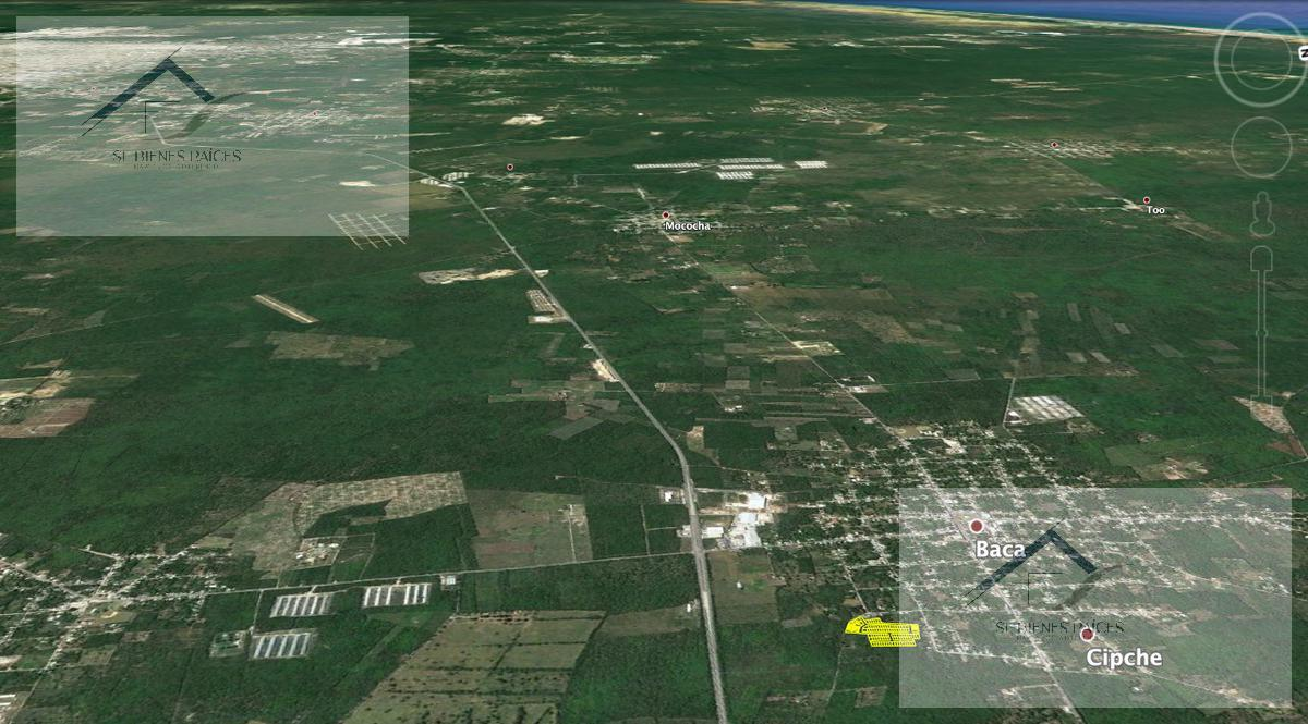 Foto Terreno en Venta    en  Baca ,  Yucatán  PALMEIRA RESIDENCIAL lotes urbanizados  - Baca Yucatan