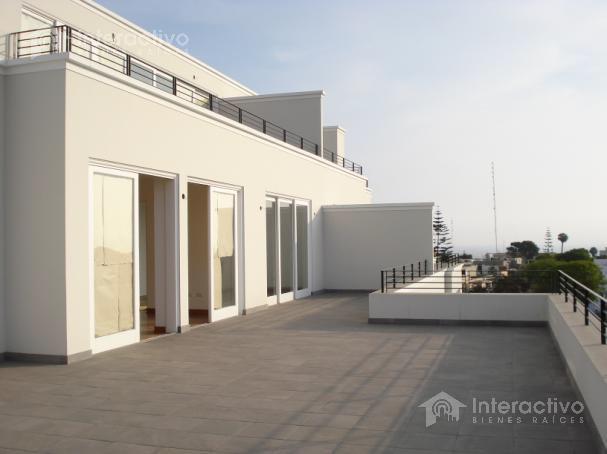 Foto Departamento en Alquiler en  San Isidro,  Lima  Urb Santa Monica altura cdra 5 de Portillo - Penthouse en 5to piso
