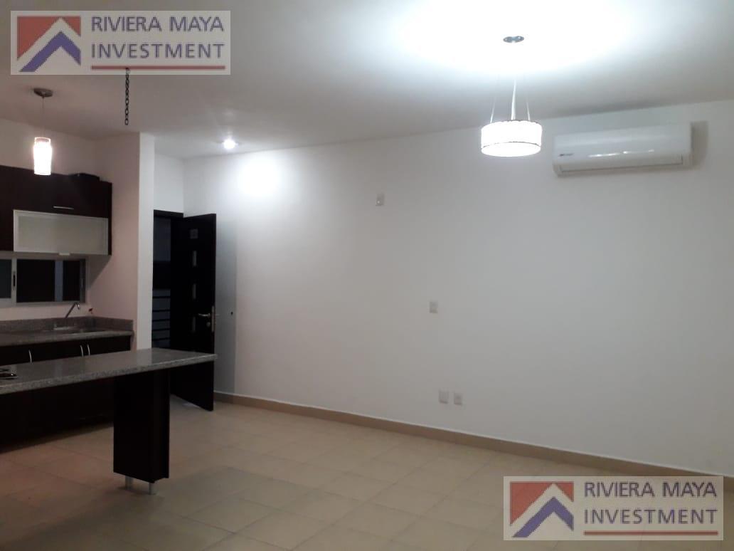 Foto Departamento en Renta en  Solidaridad ,  Quintana Roo  Departamento amueblado en renta, Punta Estrella.