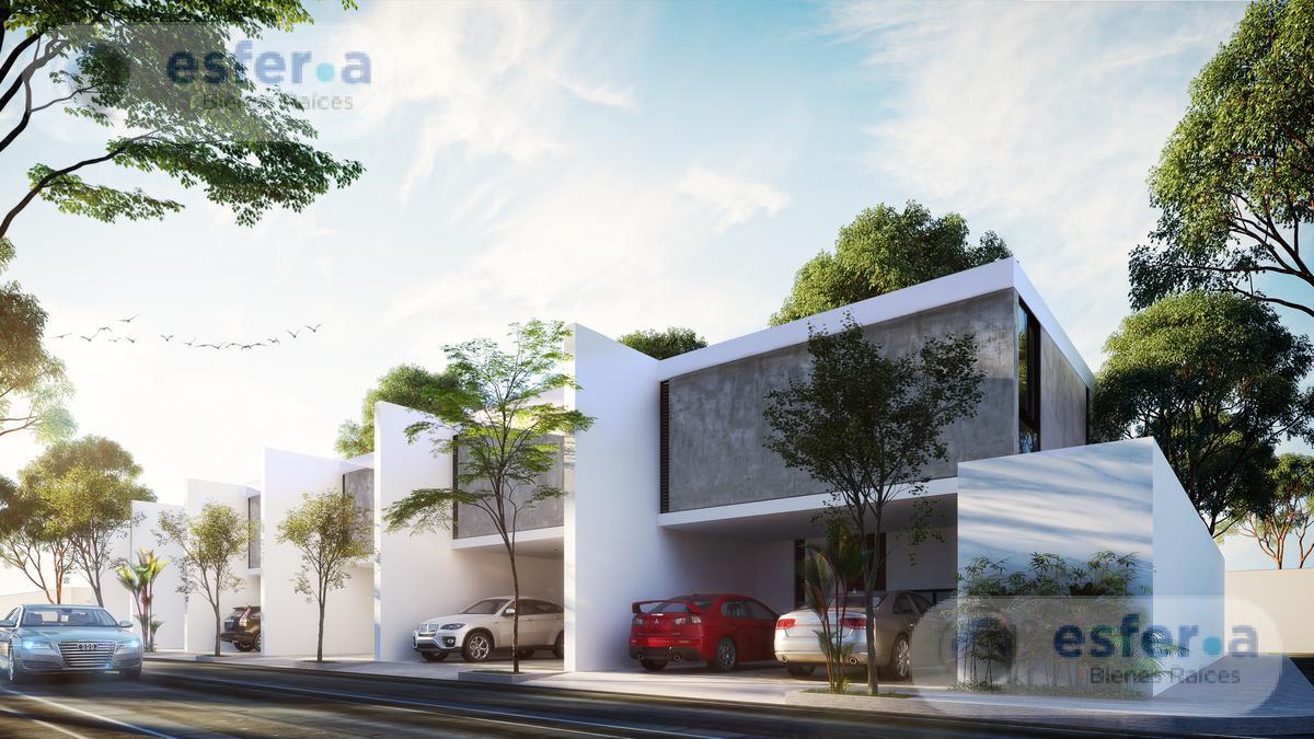 Foto Casa en Venta en  Santa Gertrudis Copo,  Mérida  Norva Residencial  Casa en venta de 3 habitaciones acabados de lujo