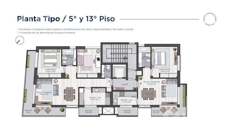 Foto Departamento en Venta en  La Lucila,  Vicente López  Av Maipu 3396 - Hermoso semipiso torre Laguzzi a estrenar