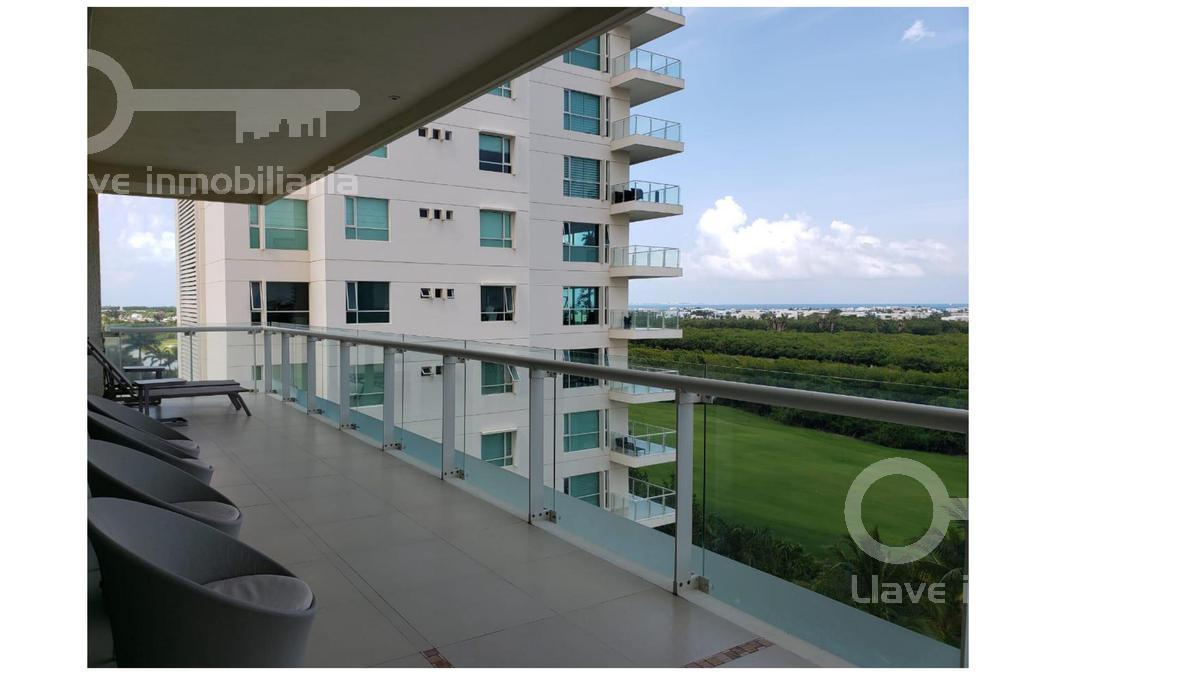 Foto Departamento en Venta en  Cancún ,  Quintana Roo  Llave Luxury Av. Bonampak, Zona Hotelera Cancun