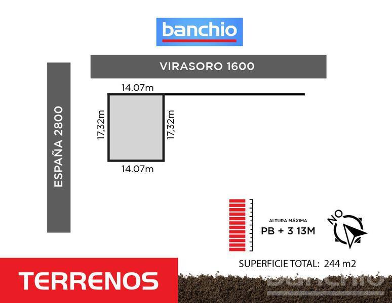 España al 2800, Santa Fe. Venta de Terrenos - Banchio Propiedades. Inmobiliaria en Rosario