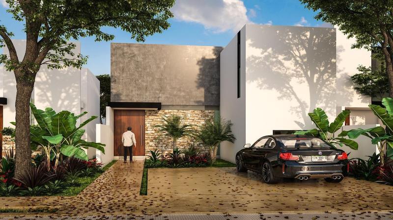 Foto Casa en Venta en  Pueblo Cholul,  Mérida  Residencial Olivos mod. 150