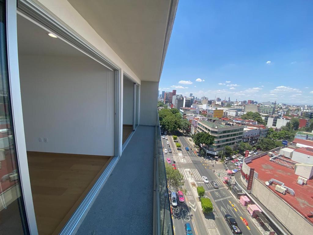 Foto Departamento en Renta en  Condesa,  Cuauhtémoc  Condesa, departamento a la renta listo para estrenar en av.  Insurgentes (DM)