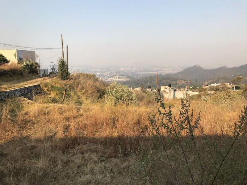 Foto Terreno en Venta en  San Andrés Totoltepec,  Tlalpan  TERRENO HABITACIONAL-RURAL DELEGACION TLALPAN IDEAL PARA CONSTRUCTORES