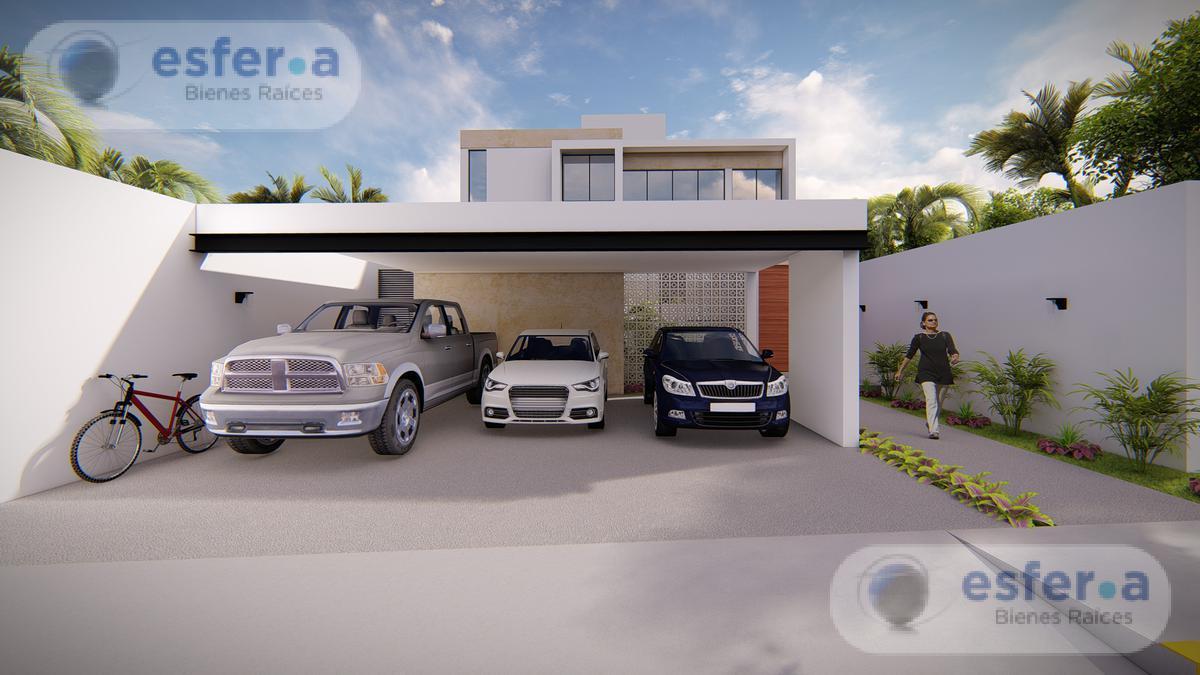 Foto Casa en Venta en  Pueblo Conkal,  Conkal  Casa en venta en Privada Arborea, 3 recámaras 2 plantas LOTE 119