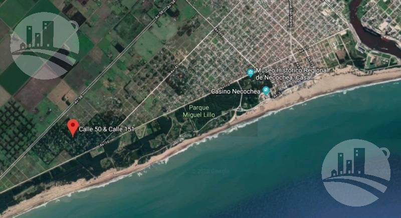 Foto Terreno en Venta en  Necochea ,  Costa Atlantica   Calle 151 bis y calle 50