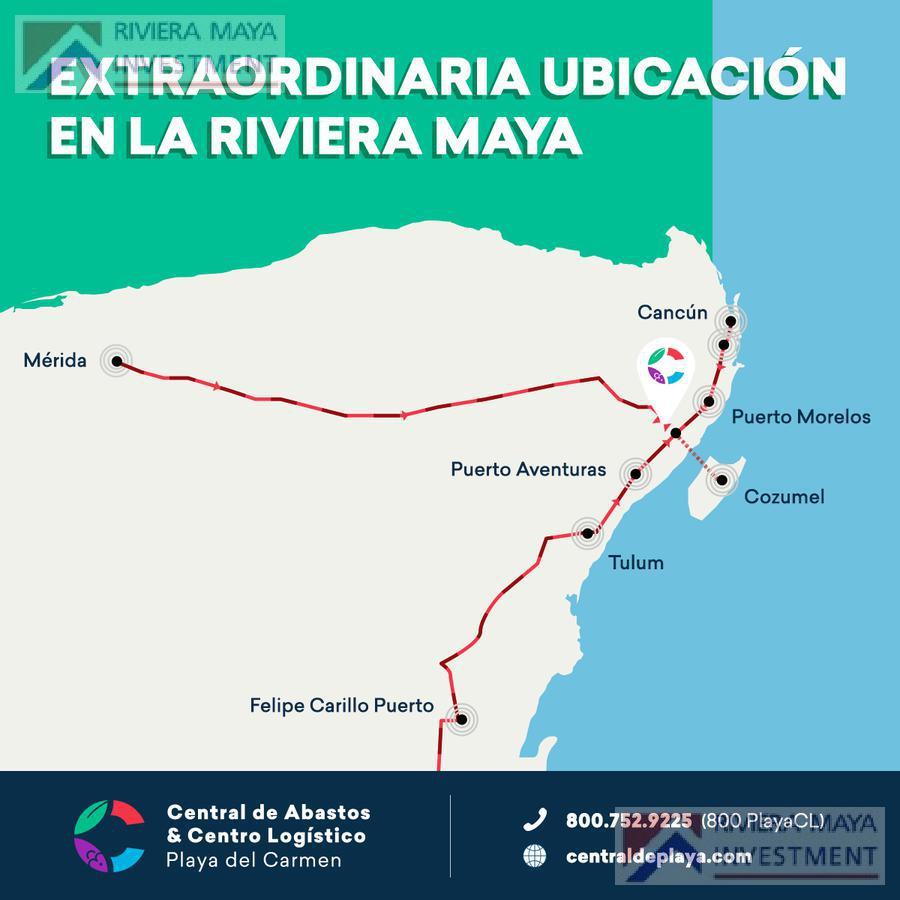 Foto Local en Venta en  Solidaridad ,  Quintana Roo  Bodega en Venta