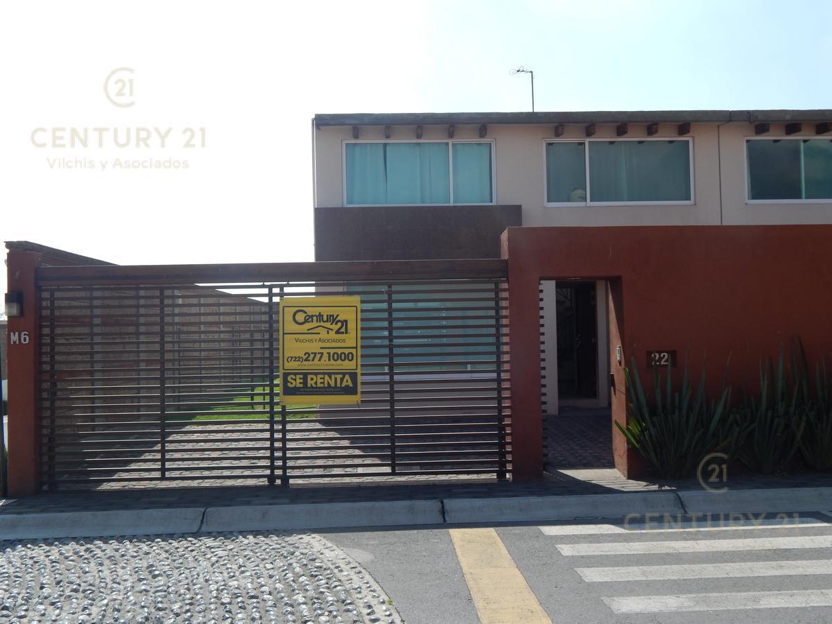 Foto Casa en condominio en Renta en  Calimaya ,  Edo. de México  Bonita casa en Bosque de las Fuentes
