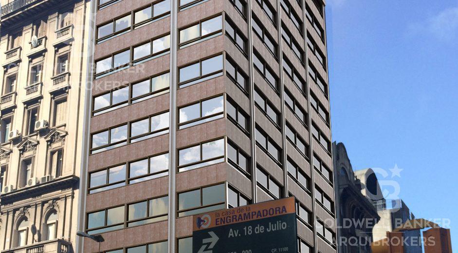 Foto Apartamento en Venta en  Centro (Montevideo),  Montevideo  Apartamento de 1 dormitorio en venta con renta en Centro