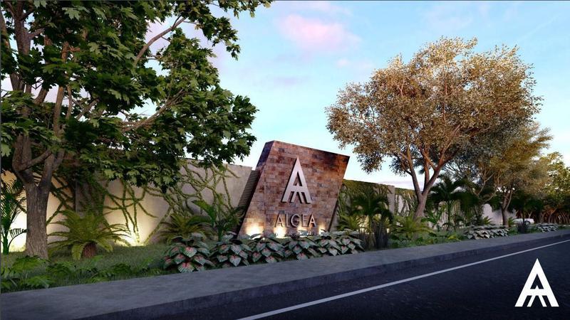Foto Terreno en Venta en  Yaxkukul ,  Yucatán  Terrenos en venta al Norte de Mérida desde 275m2 a $699 m2 Algea