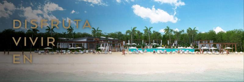 Foto Terreno en Venta en  Playa del Carmen,  Solidaridad  Terreno en Venta en Mayakoba Country Club 459 m2 con Area Verde en Playa del Carmen.