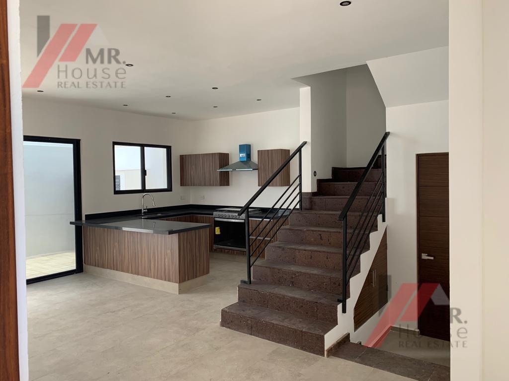 Foto Casa en condominio en Venta en  Arbolada,  Cancún  CASA NUEVA EN VENTA EN RESIDENCIAL ARBOLADA CANCUN