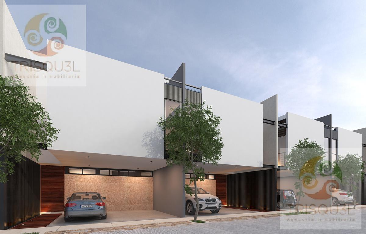 Foto Casa en condominio en Venta en  Pueblo Conkal,  Conkal  Townhouses en Venta Privada Ya´ax be (Mod Premium Plus) Conkal , Mérida Yucatán