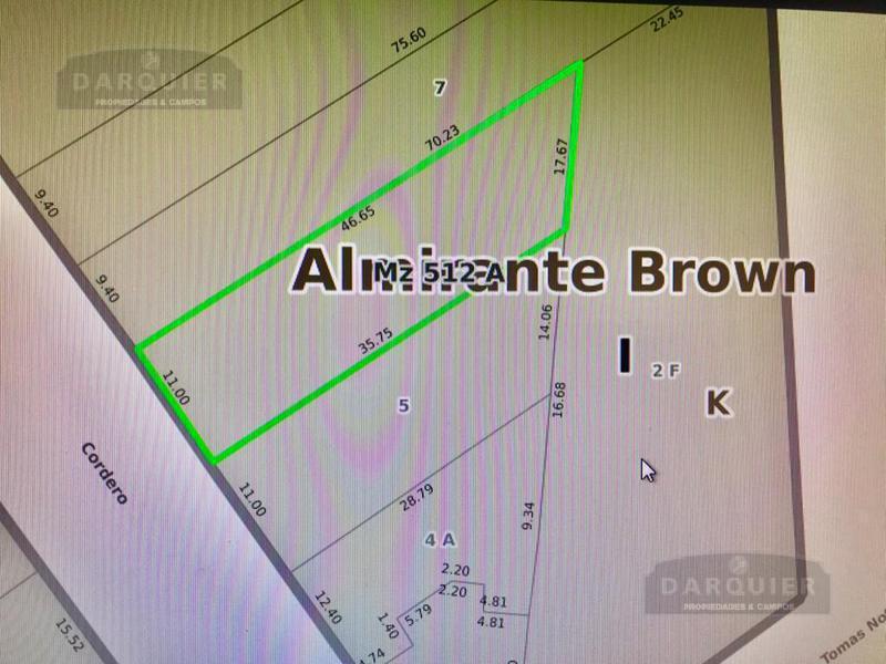 Foto Terreno en Venta en  Adrogue,  Almirante Brown  CORDERO 765