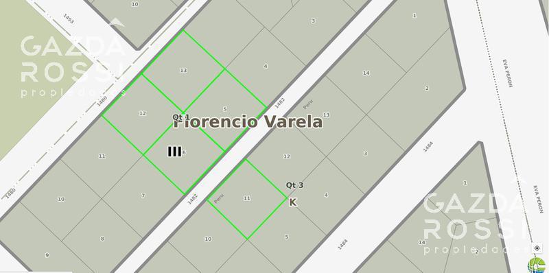 Foto Terreno en Venta en  La Capilla,  Florencio Varela  al 1400