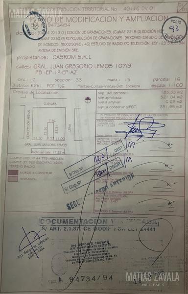 Foto Depósito en Venta en  Chacarita ,  Capital Federal  Juan G. Lemos al 100