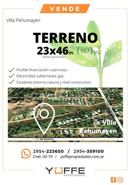 Foto Terreno en Venta en  Lowo Ché,  Toay  Lowo Ché