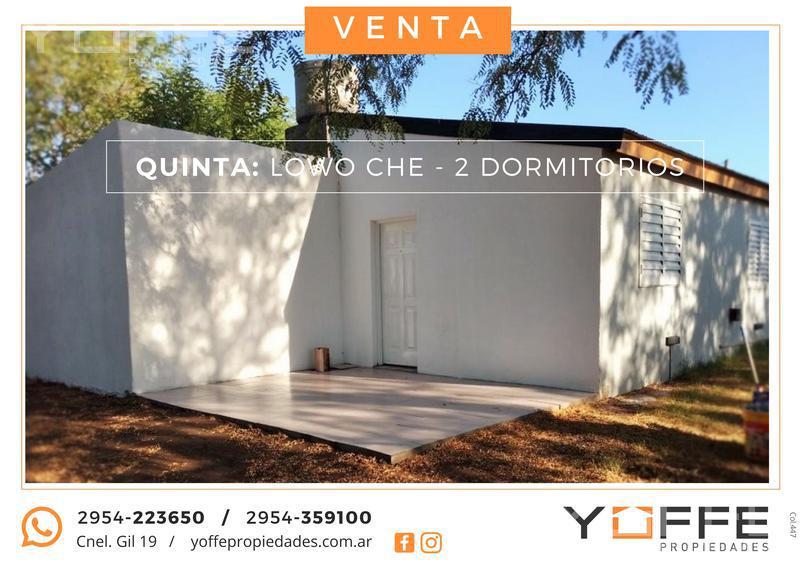 Foto Quinta en Venta en  Lowo Ché,  Toay  Lowo Ché