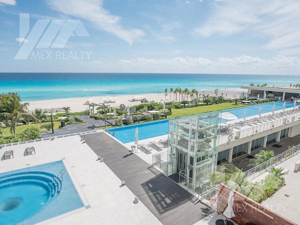 Foto Departamento en Venta en  Zona Hotelera,  Cancún  Departamento en Venta en Emerald Residential Tower, 4 Recamaras, Zona Hotelera, Cancún, Q. Roo, Clave SIND45