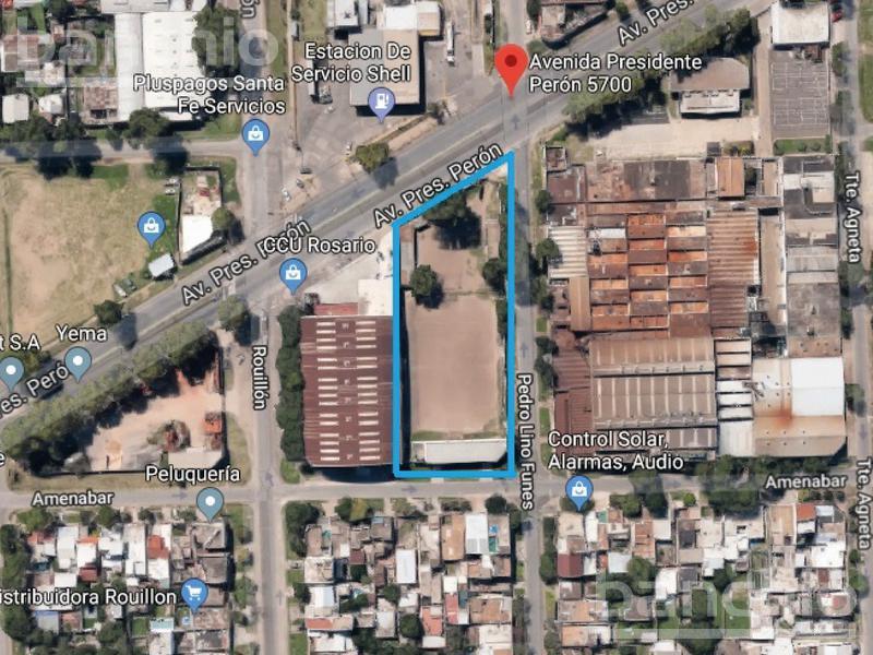 PTE. PERON al 5700, , Santa Fe. Venta de Terrenos - Banchio Propiedades. Inmobiliaria en Rosario