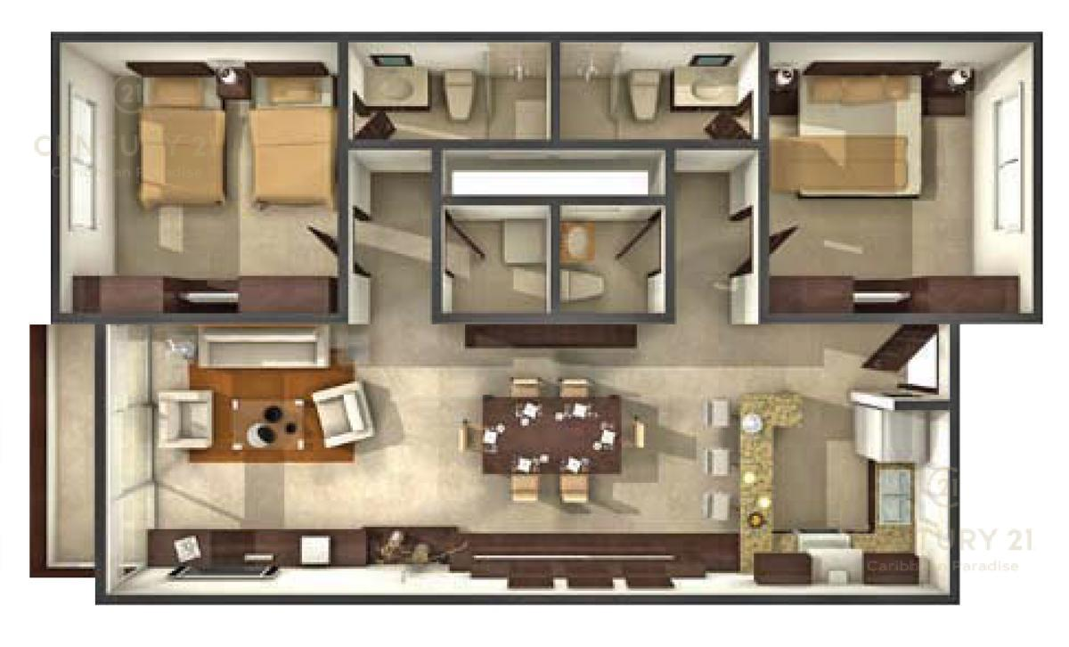 Playa del Carmen Apartment for Sale scene image 39