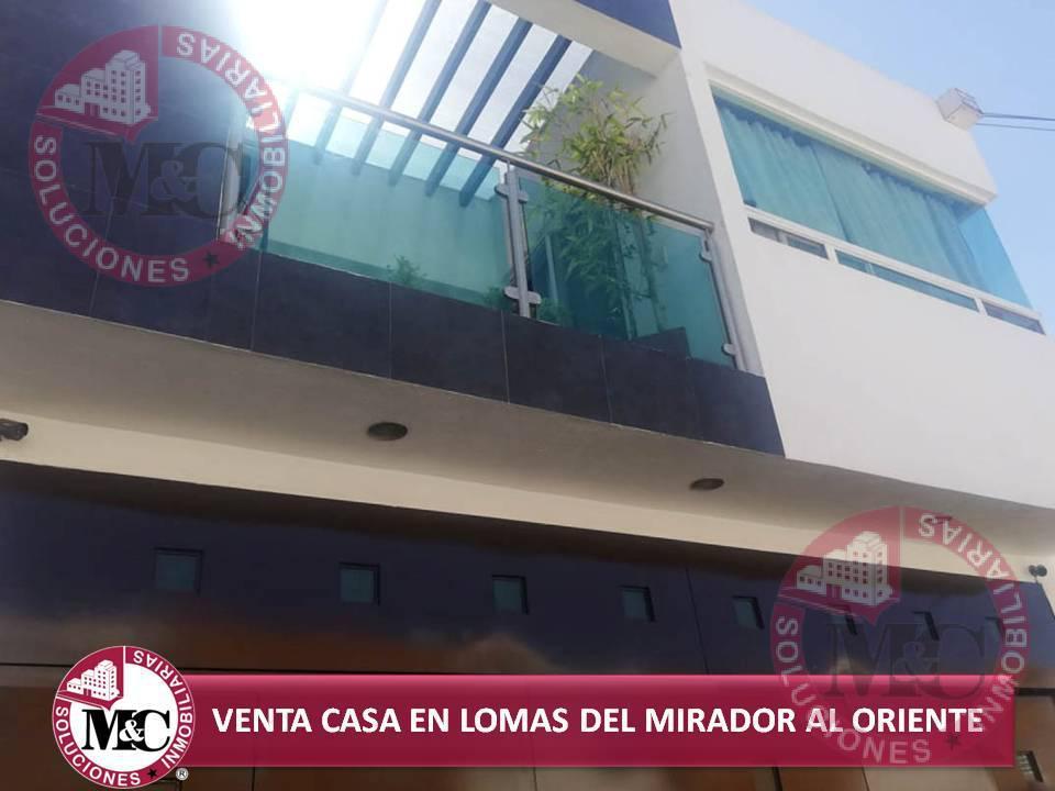 Foto Casa en Venta en  Fraccionamiento Lomas del Mirador,  Aguascalientes  MC VENTA CASA EN LOMAS DEL MIRADOR AL ORIENTE DE LA CIUDAD