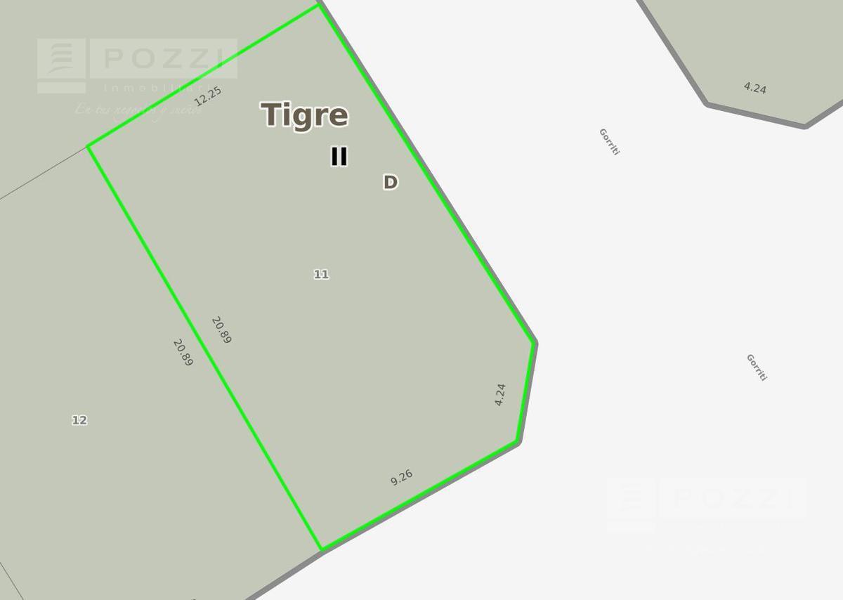 Foto Terreno en Venta en  El Talar,  Tigre  Av. Hipolito Yrigoyen esq Gorriti