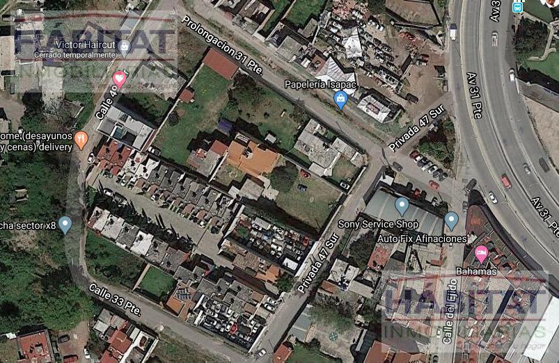 Foto Terreno en Venta en  Ampliacion Reforma,  Puebla  TERRENO EN VENTA ZONA LA PAZ, PUEBLA