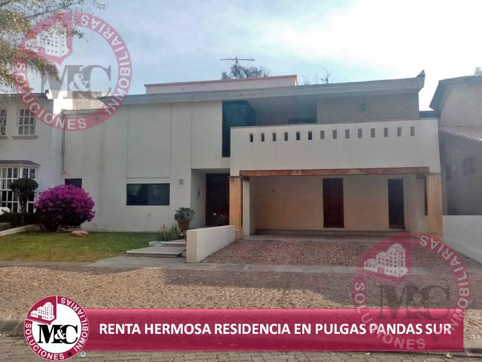 Foto Casa en Renta en  Condominio Residencial Pulgas Pandas Sur,  Aguascalientes  RENTA HERMOSA RESIDENCIAL EN PULGAS PANDAS SUR