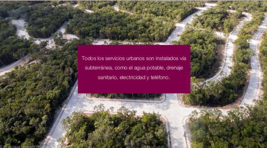 Foto Terreno en Venta en  Zona industrial Cordemex,  Mérida  Terreno Venta Aldea Zama Tulum $623,760 USD Caslib ERM1