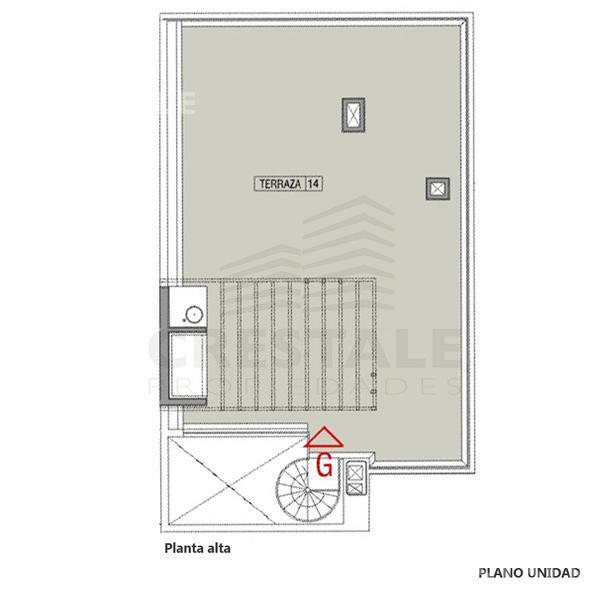 Venta departamento 2 dormitorios Funes, zona Funes. Cod 2595. Crestale Propiedades