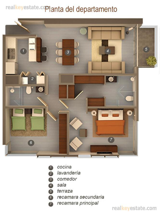 Foto Departamento en Renta en  Residencial Santa Bárbara,  San Pedro Garza Garcia  Departamento en renta o venta en Torre Atria, Valle Oriente, San Pedro