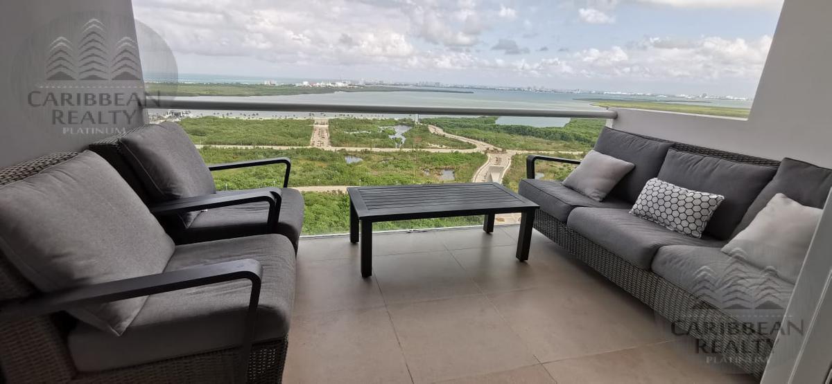 Foto Departamento en Venta en  Cancún Centro,  Cancún  HERMOSO PENTHOUSE DE 2 NIVELES EN RESIDENCIAL MALECON