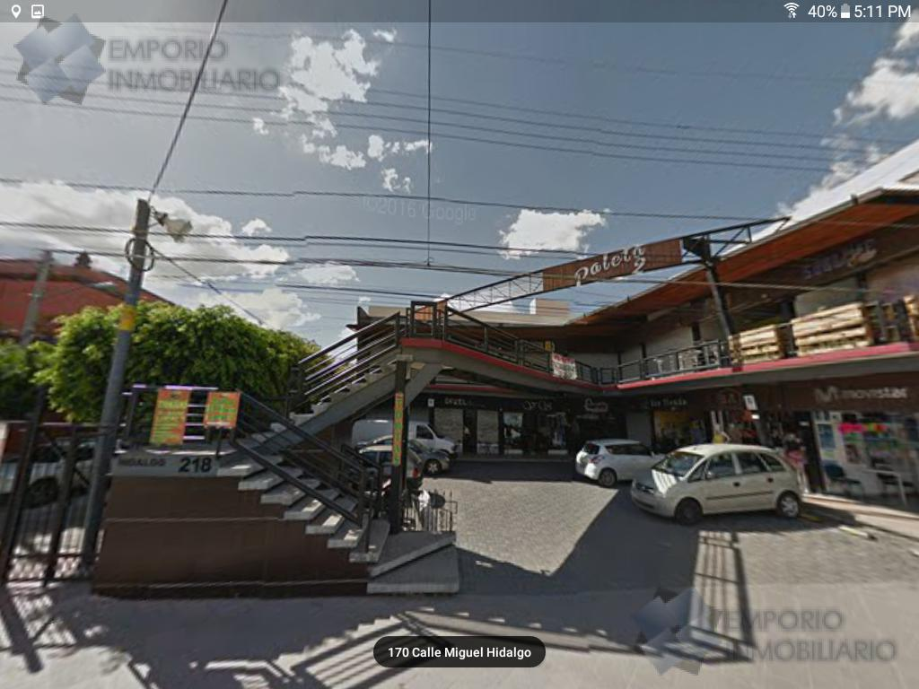 Foto Local en Renta en  Centro,  Querétaro  Local Renta Hidalgo $8,000 Diajul EQG2