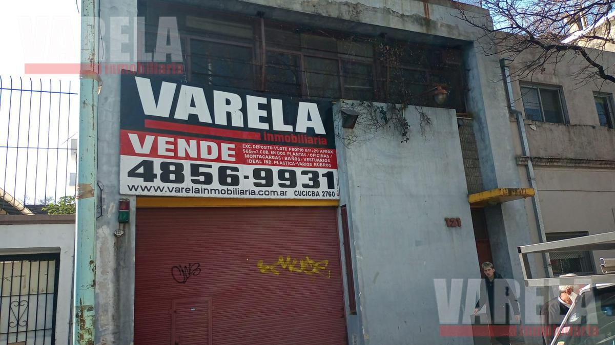 Foto Depósito en Venta en  Chacarita ,  Capital Federal  Otero 100