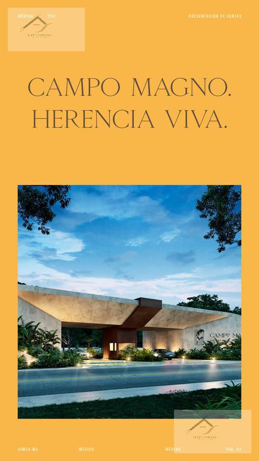 Foto Terreno en Venta en  Mérida ,  Yucatán  Campo Magno Lotes Carr- Merida a Progreso