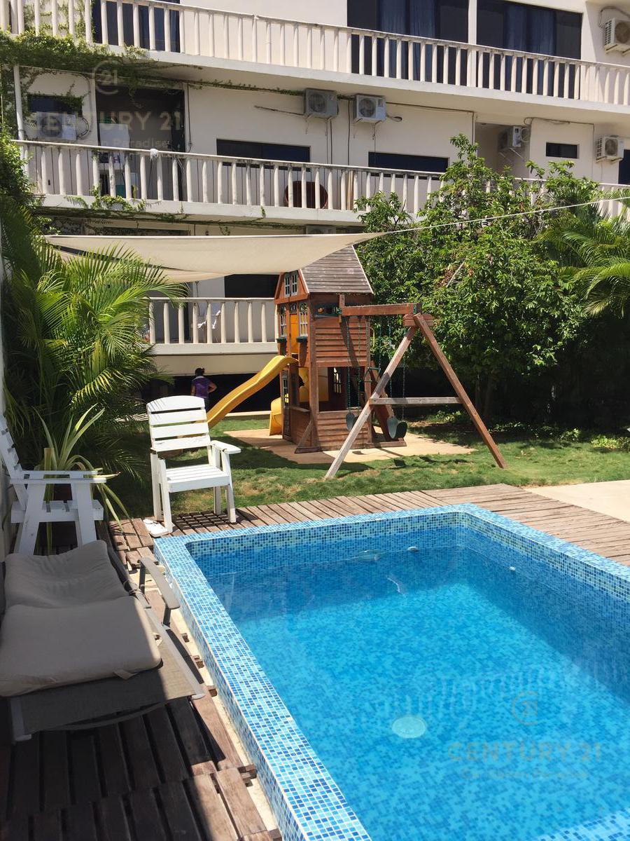 Foto Departamento en Renta en  Playa del Carmen ,  Quintana Roo  Departamento amueblado y equipado de 1 recamara a cuadras de la 5 Av, Playa del Carmen P2952