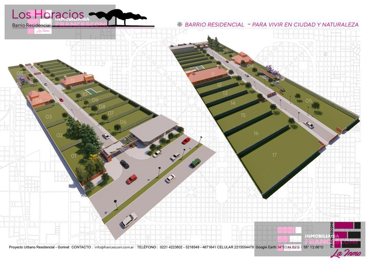 Foto Terreno en Venta en  Manuel B Gonnet,  La Plata  25 505 Y 507