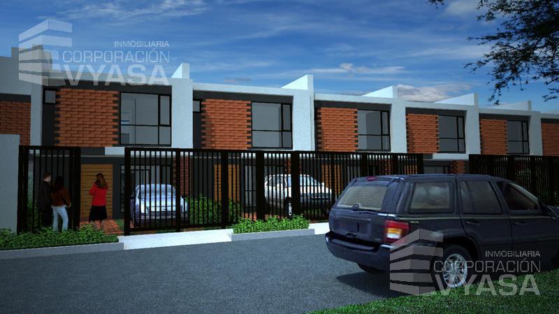 Foto Casa en Venta en  Sur de Quito,  Quito  CONOCOTO - LA SALLE,  CASA VIP  DE VENTA DE 78.28 m2  (CASA N° 17)