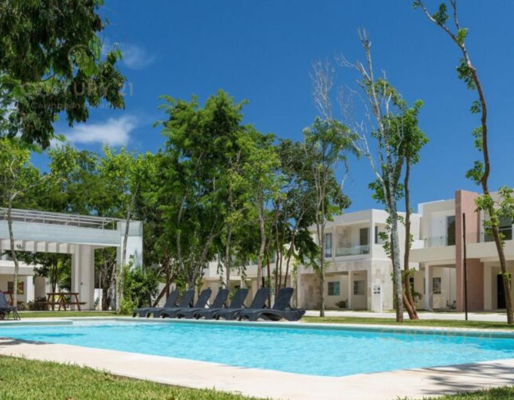 Foto Casa en Renta en  Playa del Carmen,  Solidaridad      Se renta casa amueblada en SELVANOVA Playa del Carmen P3036
